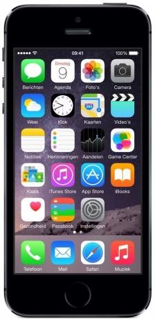 Apple iPhone 5S 16 GB Zwart – Telefoonstore.nl