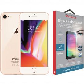 Apple iPhone 8 64 GB Goud + InvisibleShield Glass+ VisionGuard screenprotector – Telefoonstore.nl