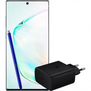 Samsung Galaxy Note 10 Plus 256 GB Zilver + Extra Samsung Snellader 45W met Power Delivery – Telefoonstore.nl