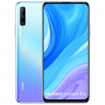 Huawei P Smart Pro 128GB Wit/Paars