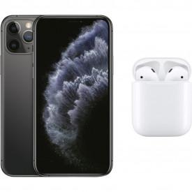 Apple iPhone 11 Pro 64 GB Space Gray + Apple AirPods 2 met oplaadcase – Telefoonstore.nl