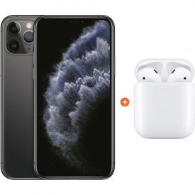 Apple iPhone 11 Pro 256 GB Space Gray + Apple AirPods 2 met oplaadcase – Telefoonstore.nl