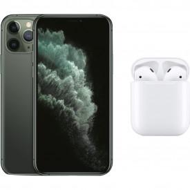 Apple iPhone 11 Pro 64 GB Midnight Green + Apple AirPods 2 met oplaadcase – Telefoonstore.nl