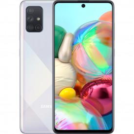 Samsung Galaxy A71 128 GB Zilver – Telefoonstore.nl