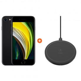 iPhone SE 64 GB Zwart + Belkin Boost Up Draadloze Oplader – Telefoonstore.nl
