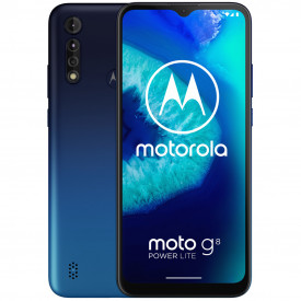 Motorola Moto G8 Power Lite 64GB Blauw – Telefoonstore.nl