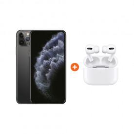 Apple iPhone 11 Pro Max 256 GB Space Gray + Apple AirPods Pro met Draadloze Oplaadcase – Telefoonstore.nl