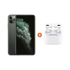 Apple iPhone 11 Pro Max 256 GB Midnight Green + Apple AirPods Pro met Draadloze Oplaadcase – Telefoonstore.nl