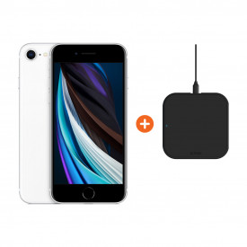 Apple iPhone SE 128 GB Wit + ZENS Slim Line Draadloze Oplader – Telefoonstore.nl
