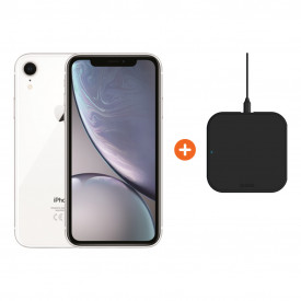 Apple iPhone Xr 128 GB Wit + ZENS Slim Line Draadloze Oplader – Telefoonstore.nl