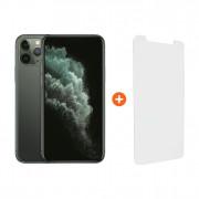 Apple iPhone 11 Pro 256 GB Midnight Green + InvisibleShield Visionguard+ Screenprotector – Telefoonstore.nl