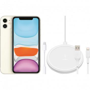Apple iPhone 11 64 GB Wit + Accessoirepakket Uitgebreid