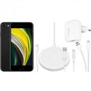 Apple iPhone SE 128 GB Zwart + Accessoirepakket Totaal – Telefoonstore.nl