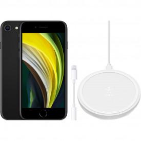 Apple iPhone SE 128 GB Zwart + Accessoirepakket Basis – Telefoonstore.nl