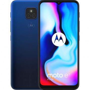 Motorola Moto E7 Plus 64GB Blauw