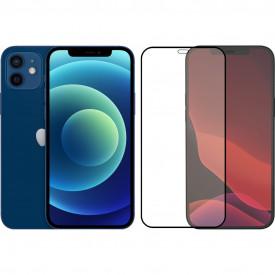 Apple iPhone 12 128GB Blauw + Azuri Tempered Glass Screenprotector – Telefoonstore.nl