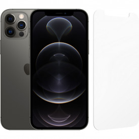 Apple iPhone 12 Pro 256GB Grafiet + InvisibleShield Glass Elite Screenprotector – Telefoonstore.nl