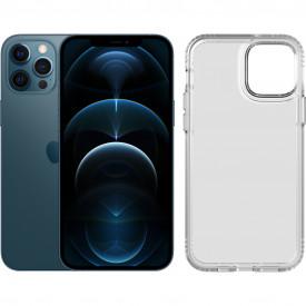 Apple iPhone 12 Pro Max 256GB Blauw + Tech21 Evo Clear Back – Telefoonstore.nl