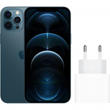 Apple iPhone 12 Pro Max 256GB Blauw + Apple Usb C Oplader 20W