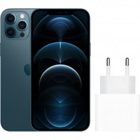 Apple iPhone 12 Pro Max 256GB Blauw + Apple Usb C Oplader 20W – Telefoonstore.nl