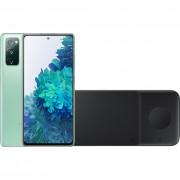 Samsung Galaxy S20 FE 128GB Groen 4G + Samsung Trio Draadloze Oplader 9W Zwart – Telefoonstore.nl