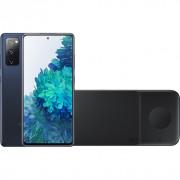 Samsung Galaxy S20 FE 128GB Blauw 5G + Samsung Trio Draadloze Oplader 9W Zwart – Telefoonstore.nl