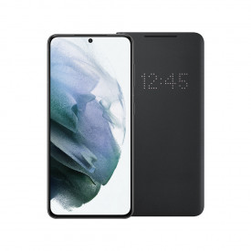 Samsung Galaxy S21 256GB Grijs 5G + Samsung Smart Led View Cover Zwart – Telefoonstore.nl