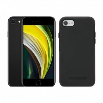 Apple iPhone SE 128GB Zwart + Otterbox Symmetry Back Cover Zwart