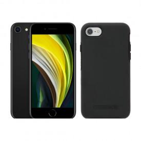 Apple iPhone SE 128GB Zwart + Otterbox Symmetry Back Cover Zwart – Telefoonstore.nl