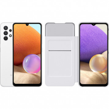 Samsung Galaxy A32 128 GB Wit + Samsung Galaxy A32 Smart S View Book Case Wit