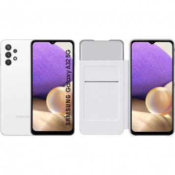 Samsung Galaxy A32 5G 128 GB Wit + Samsung Galaxy A32 Smart S View Book Case Wit