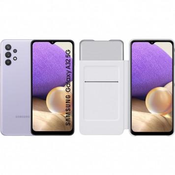 Samsung Galaxy A32 5G 128 GB Paars + Samsung Galaxy A32 Smart S View Book Case Wit