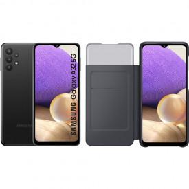 Samsung Galaxy A32 5G 128 GB Zwart + Samsung Galaxy A32 Smart S View Book Case Zwart – Telefoonstore.nl
