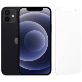 Apple iPhone 12 128GB Zwart + InvisibleShield Glass Elite Screenprotector – Telefoonstore.nl