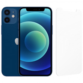 Apple iPhone 12 mini 64GB Blauw + InvisibleShield Glass Elite Screenprotector – Telefoonstore.nl