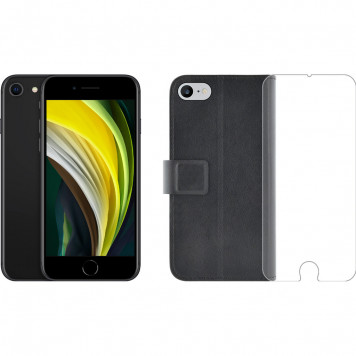 Apple iPhone SE 64GB Zwart + Azuri Beschermingspakket