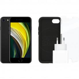 Apple iPhone SE 64GB Zwart + Accessoirepakket – Telefoonstore.nl