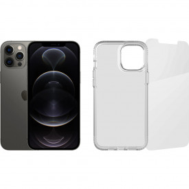 Apple iPhone 12 Pro Max 128GB Grafiet + Beschermingspakket – Telefoonstore.nl