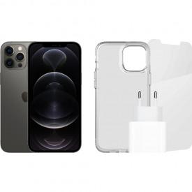 Apple iPhone 12 Pro Max 128GB Grafiet + Accessoirepakket – Telefoonstore.nl