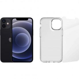Apple iPhone 12 mini 128GB Zwart + Beschermingspakket – Telefoonstore.nl