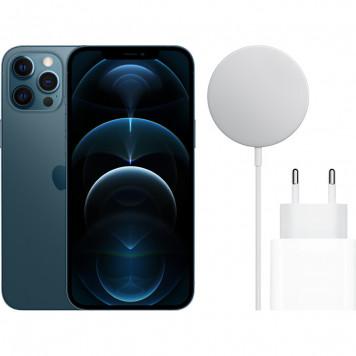 MagSafe Oplaadpakket - Apple iPhone 12 Pro Max 128GB Pacific Blue