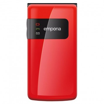 Emporia Flip Basic senioren telefoon rood