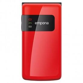 Emporia Flip Basic senioren telefoon rood – Telefoonstore.nl